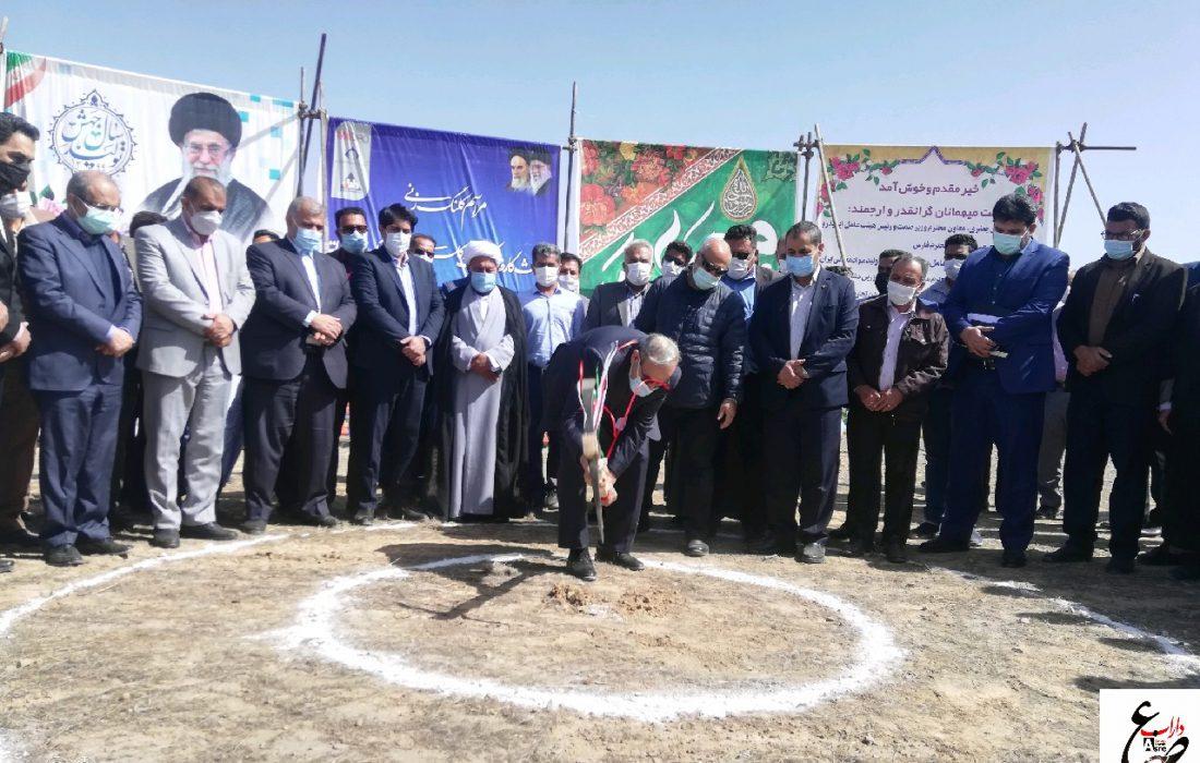 مراسم کلنگ زنی سه پروژه صنعتی در شهرستان داراب با حضور مدیرعامل شرکت ایمیدرو برگزار شد