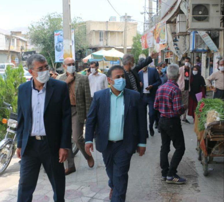 فرماندار ویژه داراب در بازدید از سطح شهر داراب: قدردان مردم فهیم شهرستان خصوصا کسبه و بازاریان هستیم