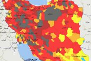 تکذیب سیاه شدن وضعیت کرونایی در ۶۳ شهرستان کشور/  ۶۳ شهر در وضعیتی هستند که از شاخصی که برای رنگ قرمز در نظر گرفتیم فراتر رفته اند