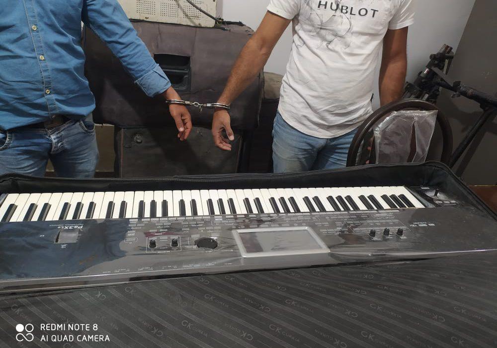 دستگیری گروه موسیقی عروسی در فسارود