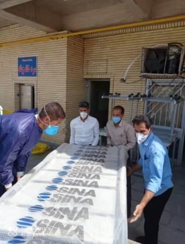 طی ۷ ماه اخیر چهارمین محموله تجهیزات پزشکی و تدارکاتی به بیمارستان امام حسن مجتبی(ع) داراب رسید