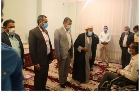 دیدار فرماندار ویژه داراب با خانواده معظم شهدا به مناسبت هفته قوه قضائیه