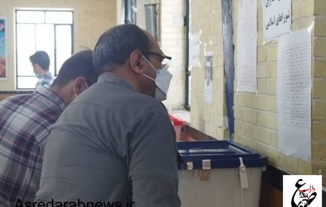 صدرنشینی سید ابراهیم رئیسی در شهرستان داراب با ۶۷۴۲۲ رای