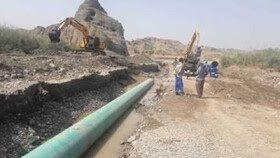 پروژه آب سد رودبال به زرین دشت به بهره برداری رسید/انتقال آب به شهرپیر و دبیران از مسیر دوراهی خسویه انجام خواهد شد