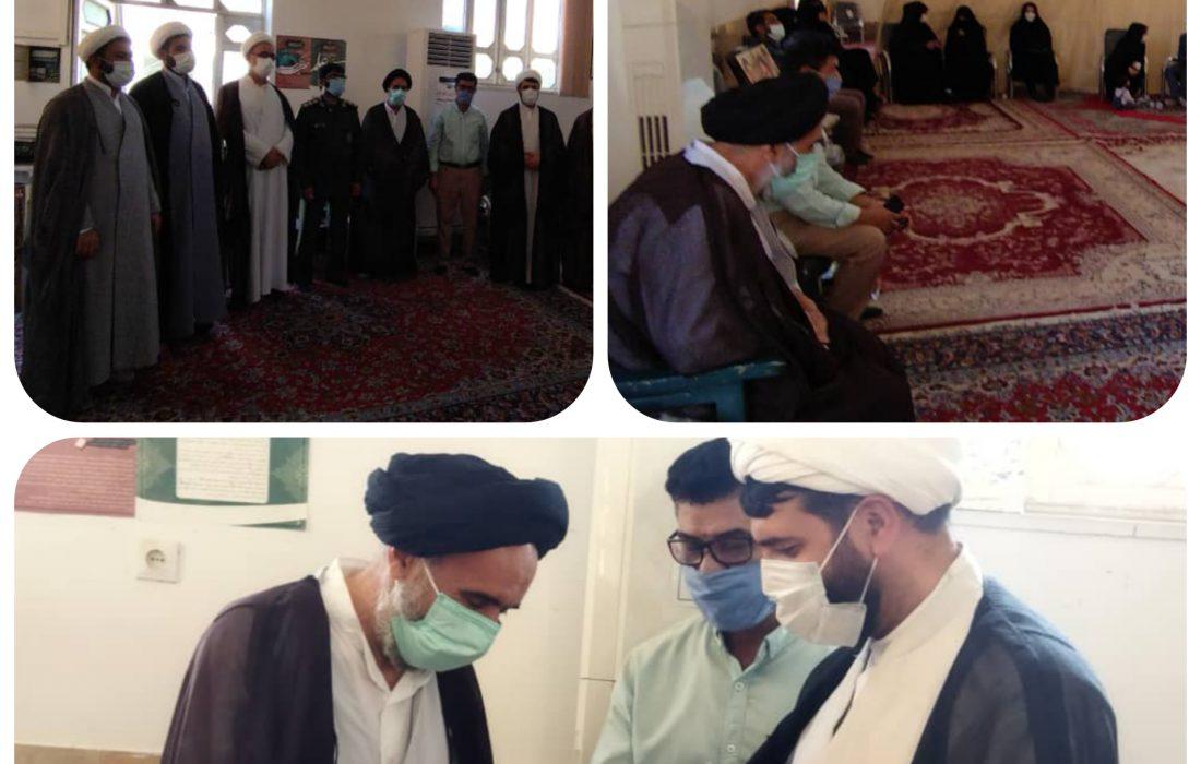 دیدار امام جمعه جدید با حجه الاسلام سید محمد نسابه به مناسبت عید غدیر خم