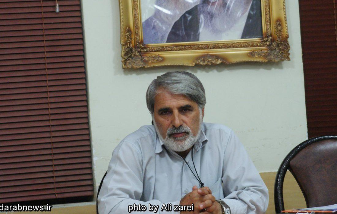 خداحافظی علی اکبر عبداللهی، عضو شورای چهارم و پنجم از مردم داراب